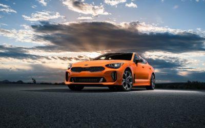 Kia Stinger GTS unveiled at the New York International Auto Show