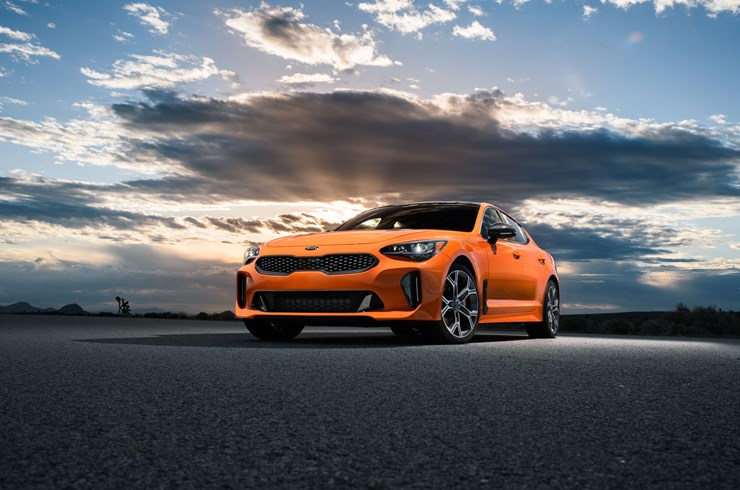 Kia Stinger GTS unveiled at the New York International Auto Show