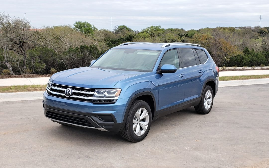 2019 VW Atlas 2.0T S  FWD is here!