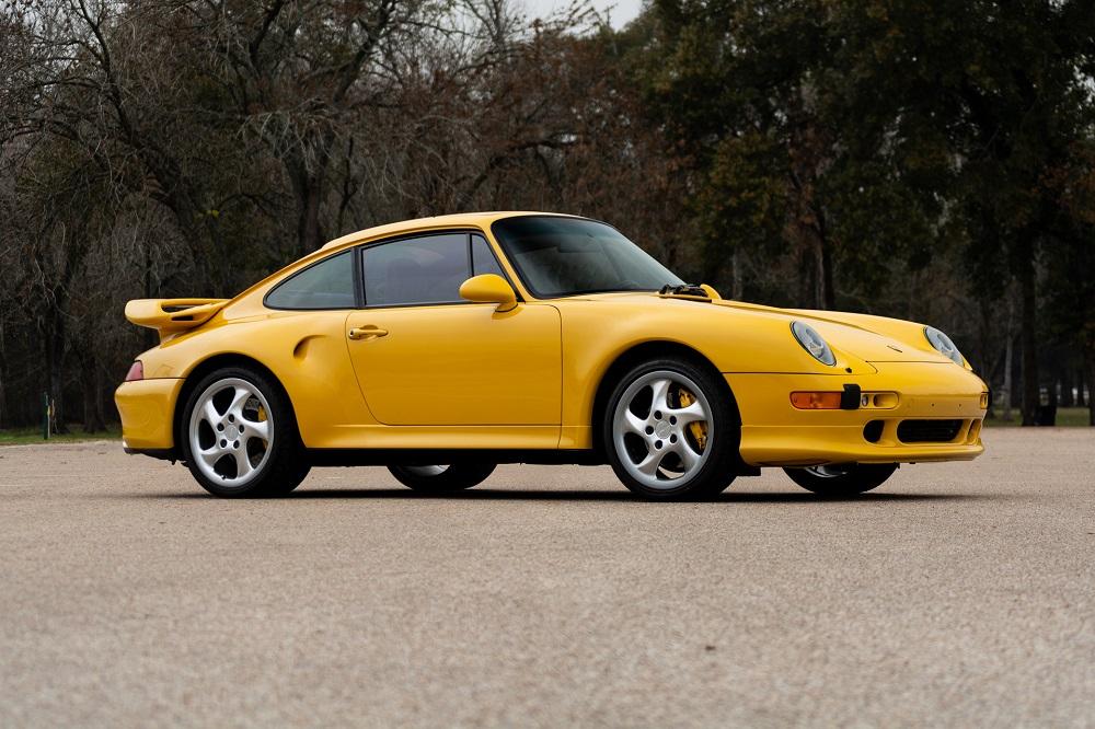 Lot S107 1997 Porsche 911 Turbo S