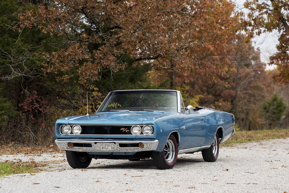 Lot S133 968 Dodge Coronet R-T Convertible