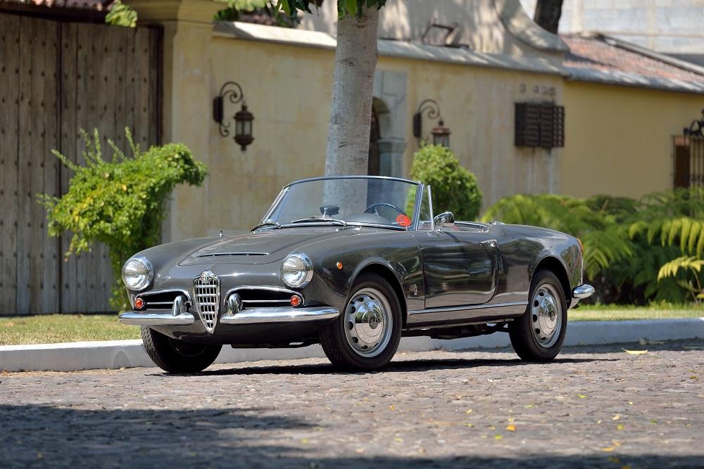 Lot S90 1962 Alfa Romeo Guilia Spider