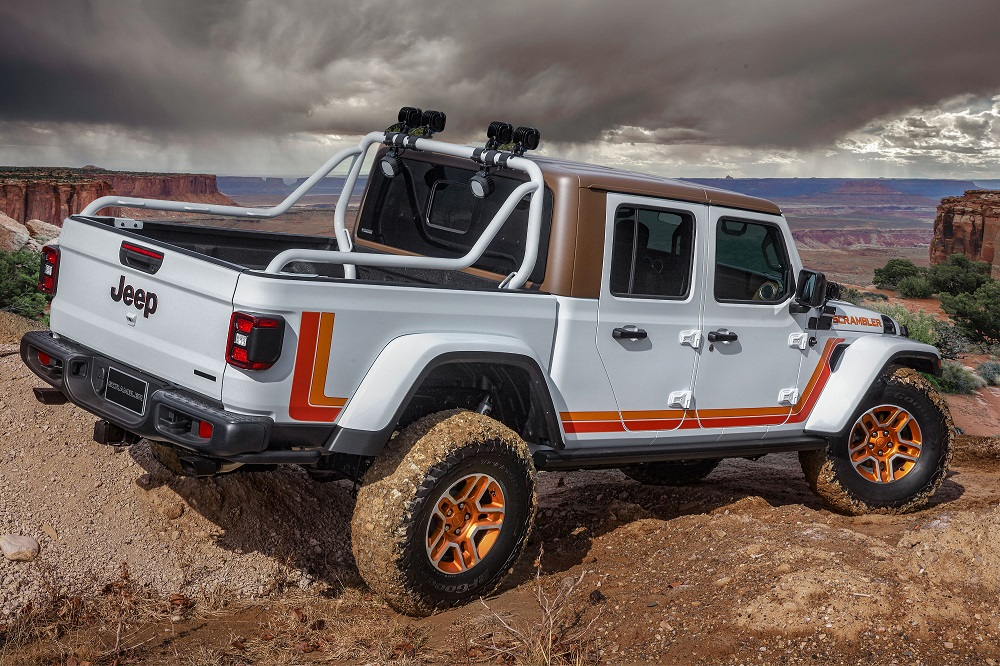 2019 Jeep Moab concepts - JT Scramble
