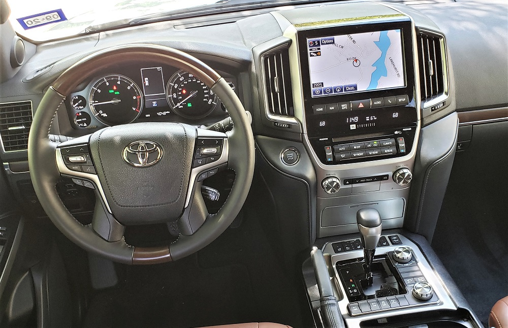 2019 Toyota Land Cruiser INT