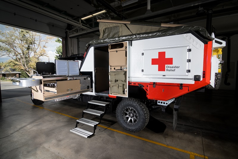 Nissan Titan Red Cross