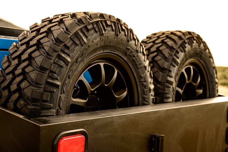 Nissan Titan Grand Canyon tires