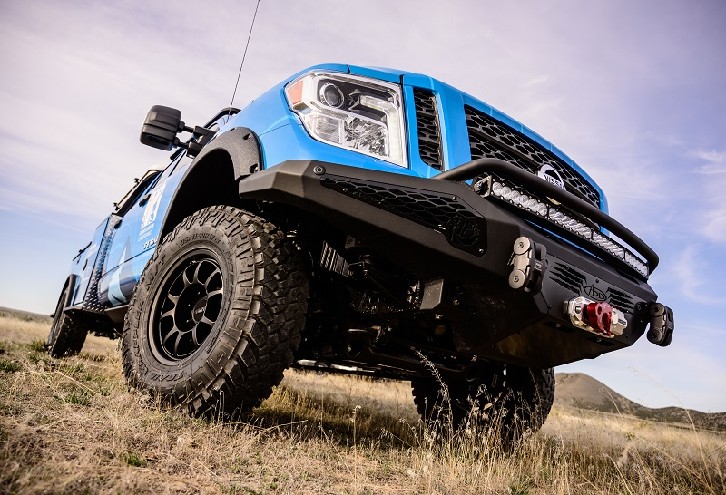 Nissan Titan Grand Canyon suspension