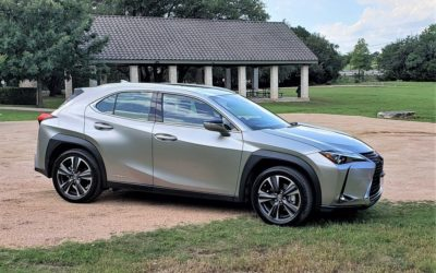 Lexus UX 250h Hybrid Compact Crossover targets the young, appeals to empty nesters too