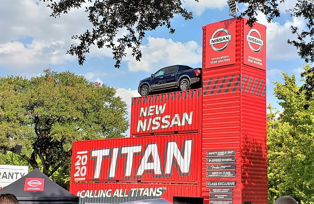 New 2020 Titan pickups debut in truck country – State Fair of Texas