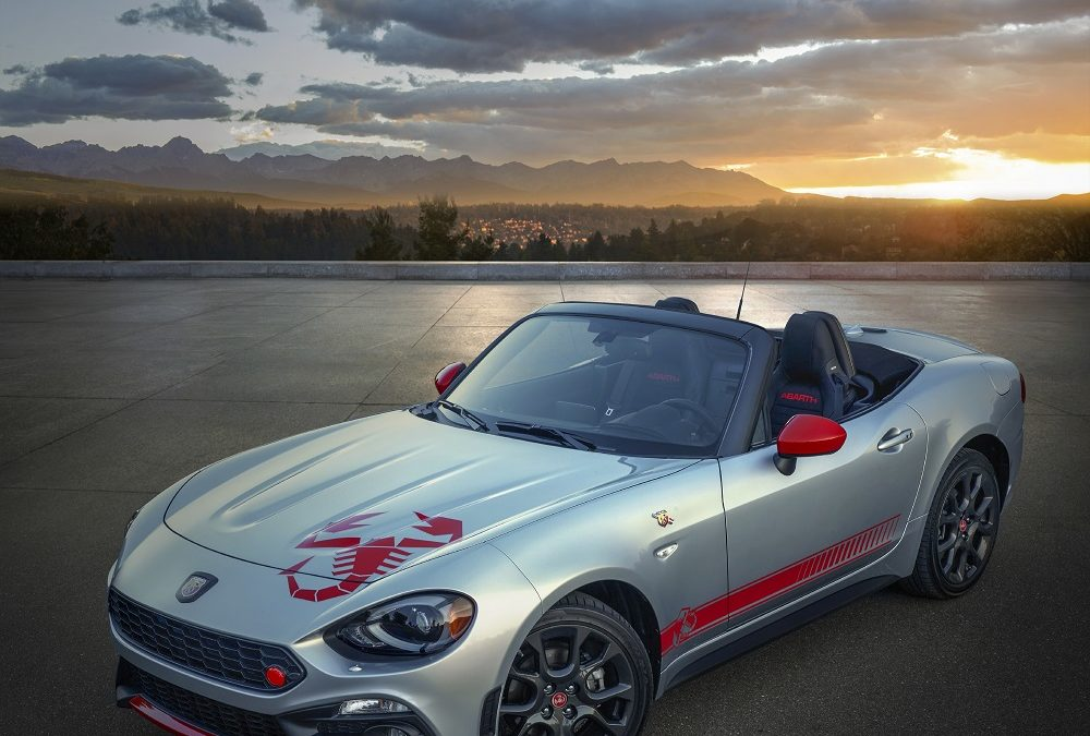 Fiat celebrates 70 years of Abarth with 'Scorpion Sting' graphics on 124 Spider