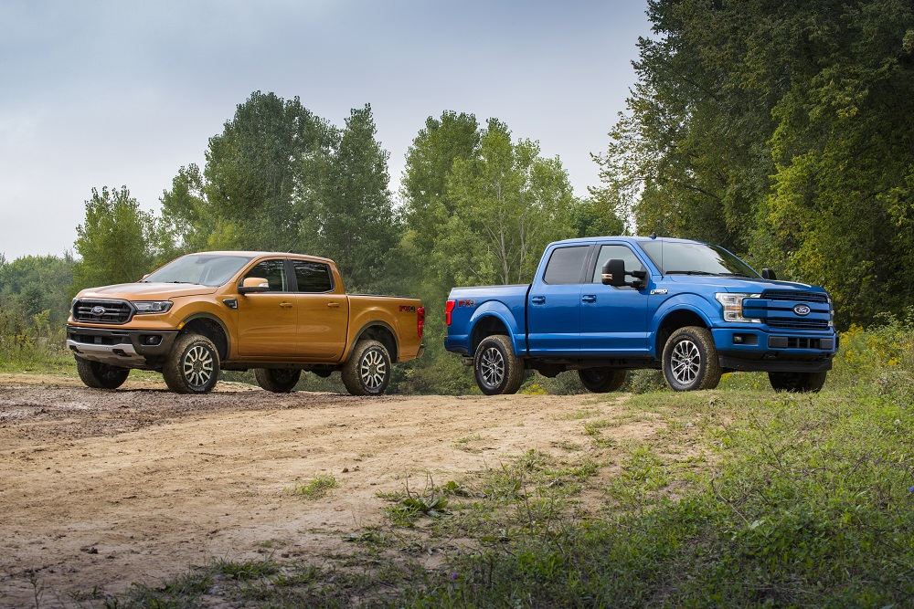 Ford Performance Off-Road Leveling Kits coming for Ranger and F-150 this Fall