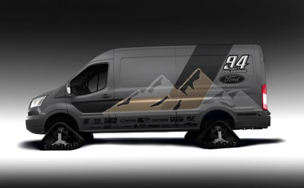 Ford Transit 12 Passenger Van >> Ford customizes Ranger and Transit for 2019 SEMA Show   In ...