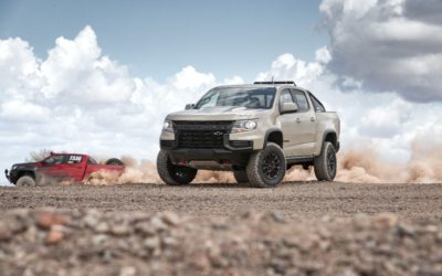 Chevy reveals 2021 Colorado styling changes with debut of ZR2 race truck