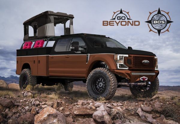 Ford Puts Super In Five Special Makeover Super Duty Trucks For