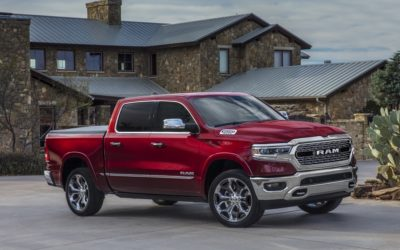 Ram 1500 first full-size pickup earning IIHS Top Safety Pick+ rating