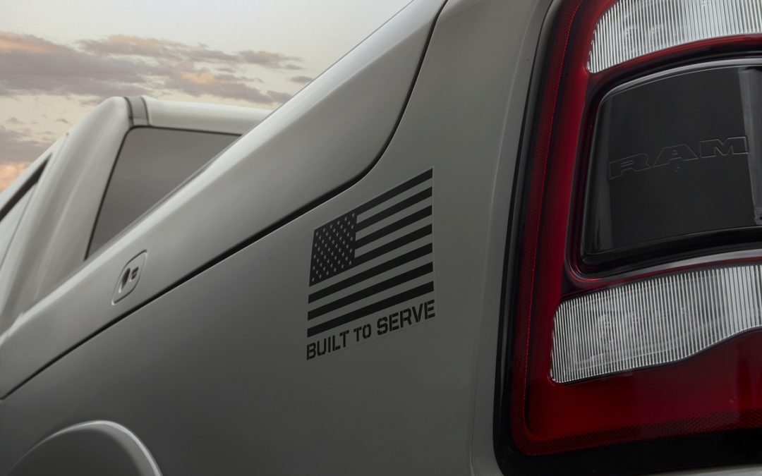 "Ram honors United States Armed Forces with new ""Built to Serve Edition"" trucks"