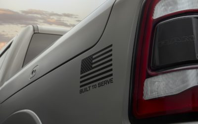 """Ram honors United States Armed Forces with new """"Built to Serve Edition"""" trucks"""