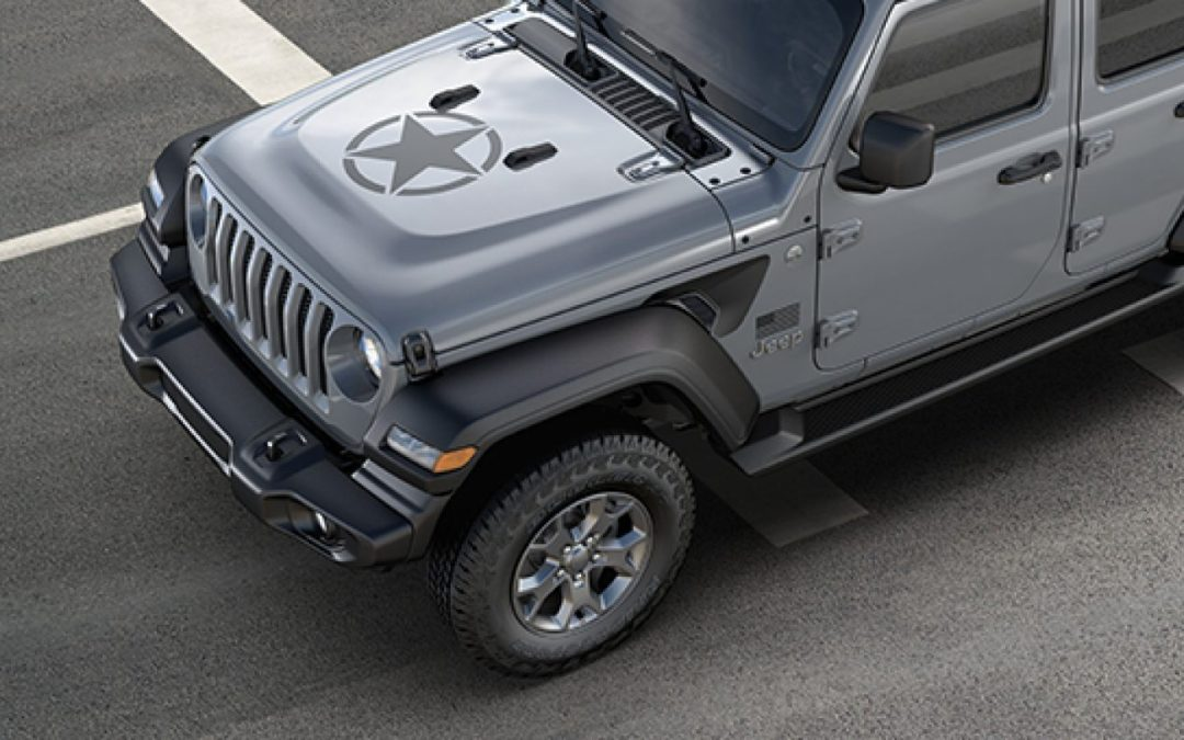 Jeep announces Wrangler Freedom Model for 2020 in honor of U.S. Military