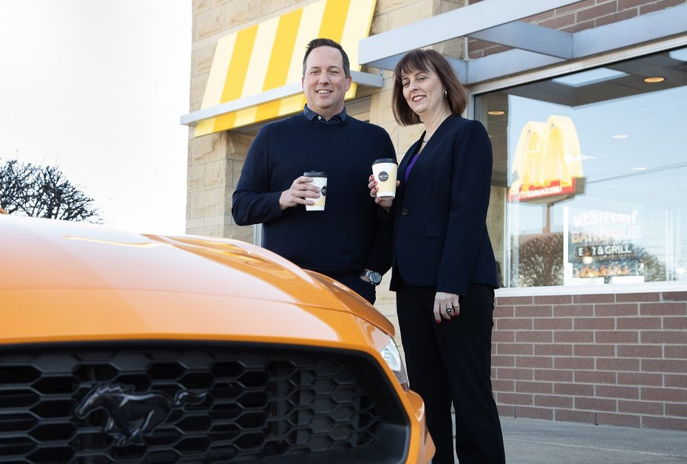 Ford collaborating with McDonald's to make car parts from coffee bean waste