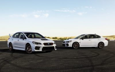 Subaru offering 2020 WRX and WRX STI in Series.White limited editions