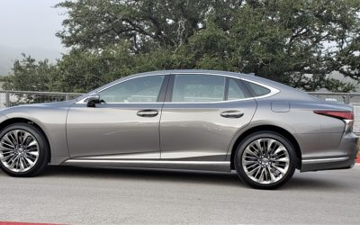 'Drop the mic' elegant and refined – the 2020 Lexus LS 500 Luxury Sedan