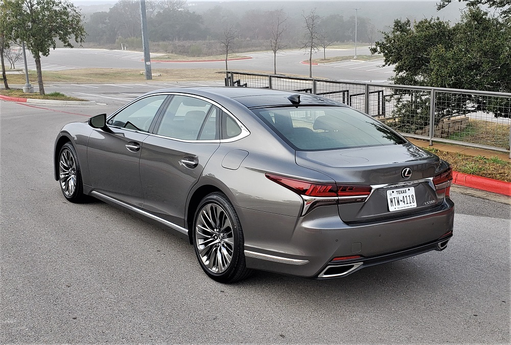 'Drop the mic' elegant and refined - the 2020 Lexus LS 500 ...