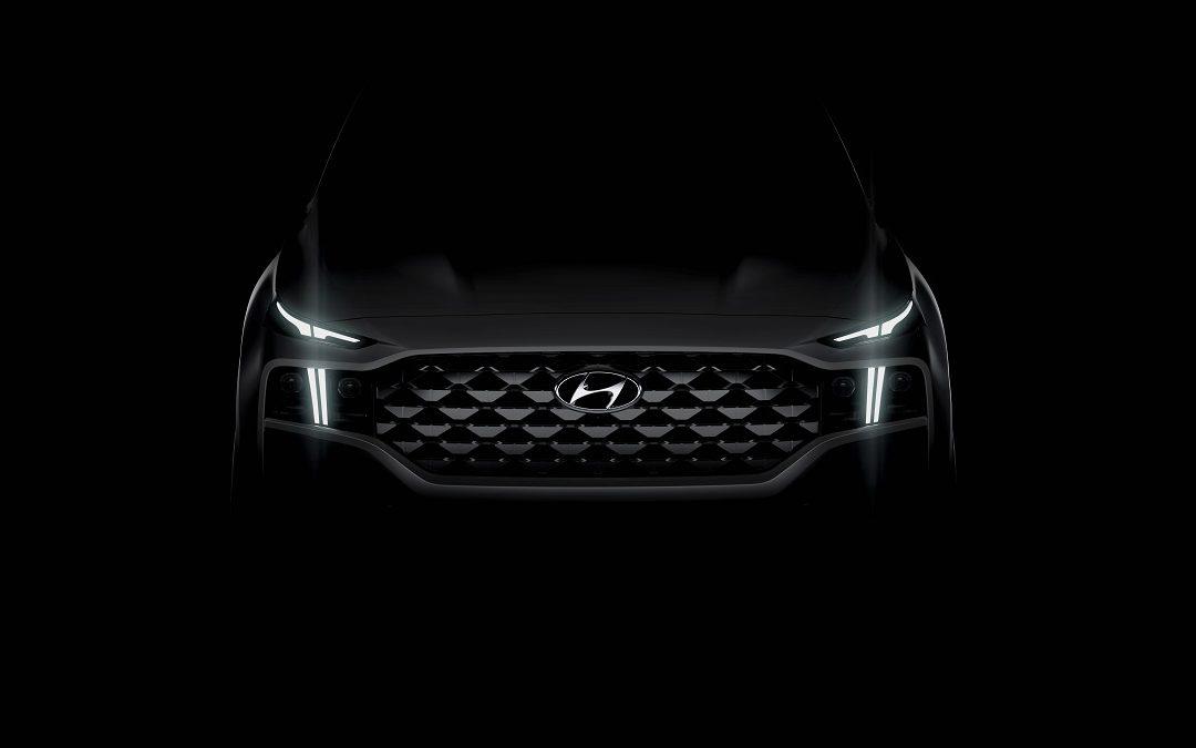 First peek – Next generation Santa Fe SUV from Hyundai