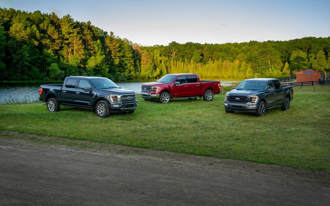 Again, 2021 Ford F-150 sets new full-size truck standard