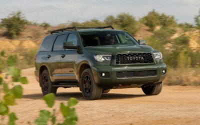 2020 Toyota Sequoia TRD Pro more ready for everything you've got