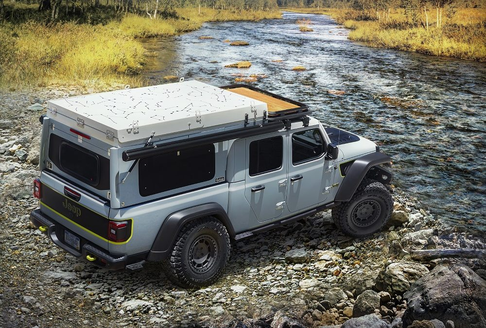 Jeep Gladiator Wayout concept adds EcoDiesel becomes Farout Overlander