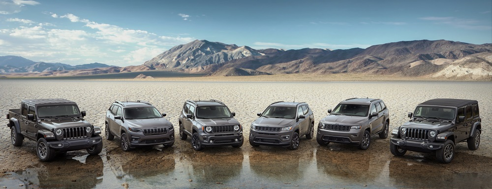 Jeep celebrates 80 years with Special Editions, expanded Jeep Wave Customer Care