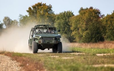 GM Delivers first of new Infantry Squad Vehcles to U.S. Army