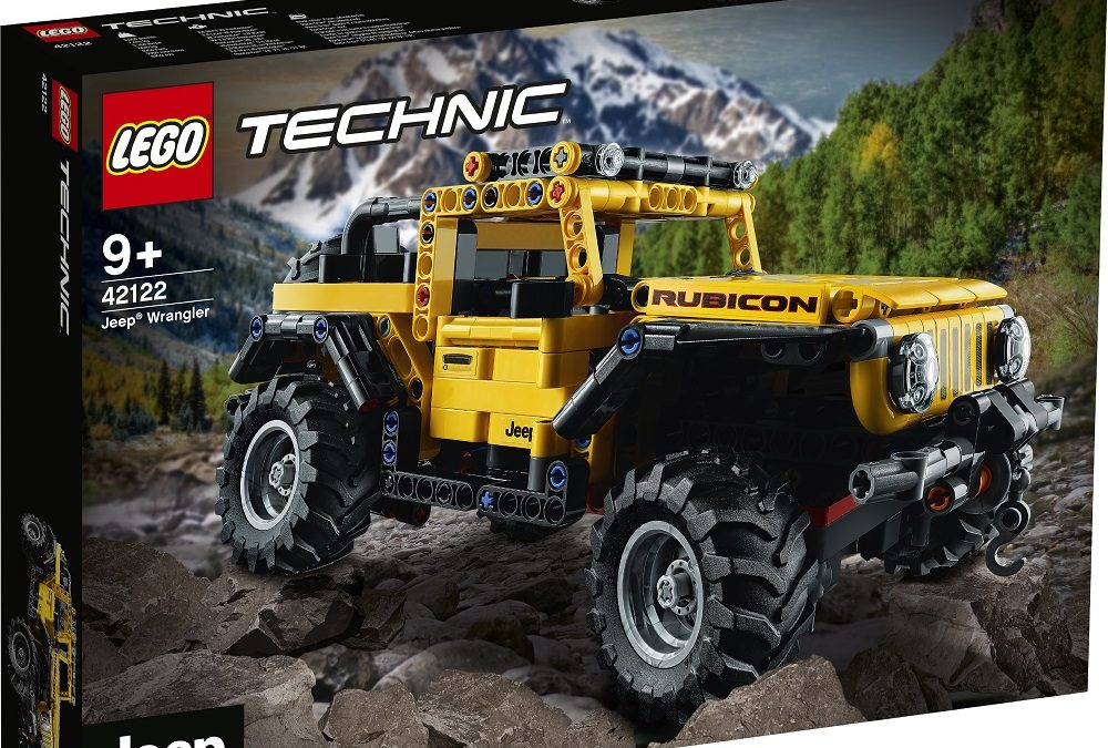 LEGO Technic Jeep Wrangler – the perfect gift for LEGO or Jeep fans