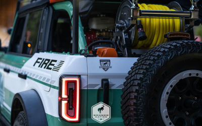 Ford partners with Filson to create Bronco Firecrew Rig