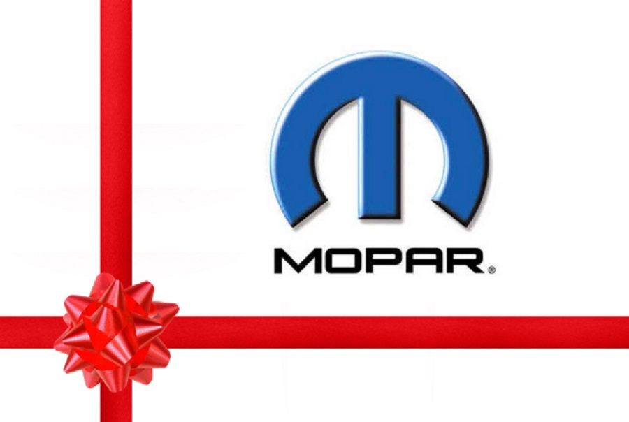 Perfect holiday gifts from Mopar include Ugly Sweater and Muscle Car Crate Engine