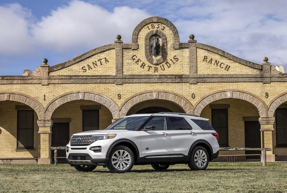 New Ford Explorer King Ranch Edition available this Spring