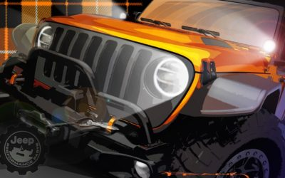 Orange Peelz concept from Jeep brings open air fun to MOAB