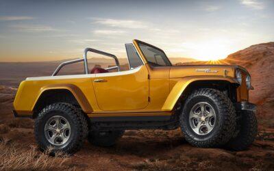 Jeepster Beach Resto-Mod concept rekindles memories of beach and surf