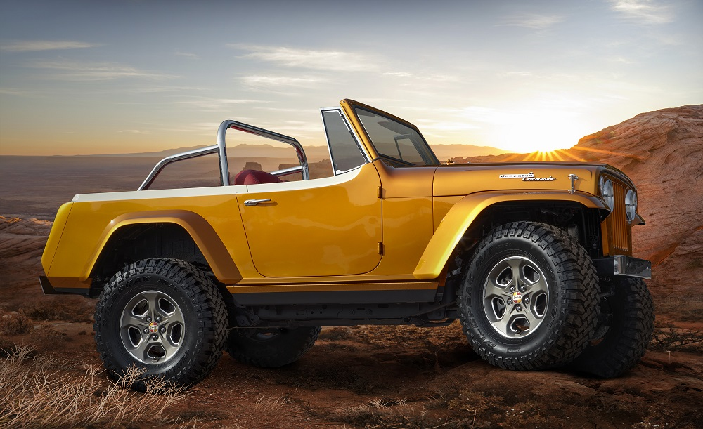 Jeepster Beach Resto-Mod concept rekindles memories of beach and surf