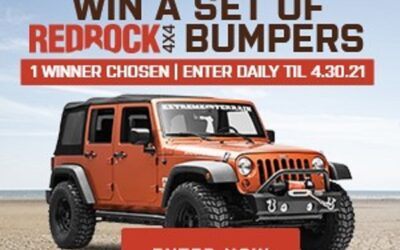 Win a Front + Rear Bumper Worth $1000 from Extreme Terrain