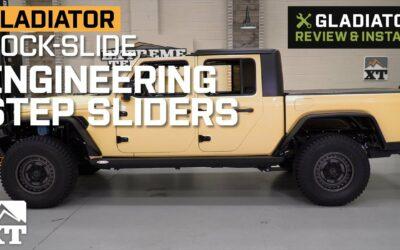 Jeep Gladiator Rock-Slide Engineering Step Sliders – Easy Install