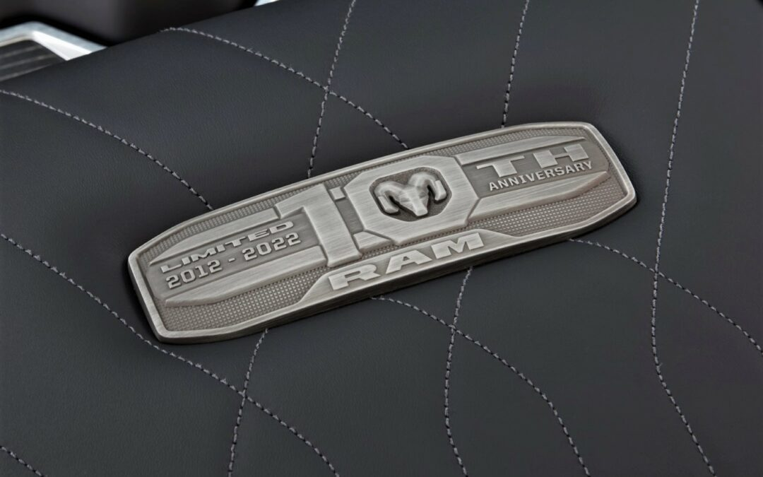 2022 Ram 1500 Limited 10th Anniversary Edition coming this Fall