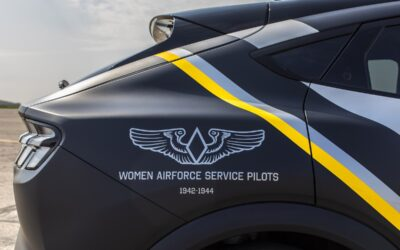 Ford Honors Women Airforce Service Pilots with Custom Mustang Mach-E